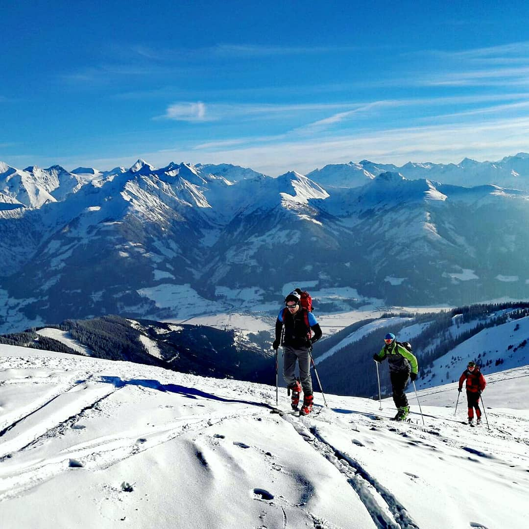 Skitouring in Alps